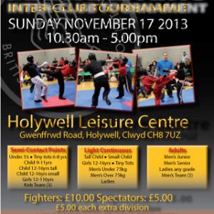 Holywell Tournament Nov 2013