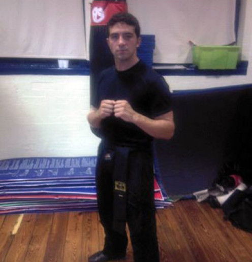 Richard Hansen Blacksash 1st Degree
