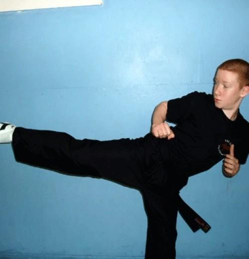 Bradley Hogan Blackbelt 1st Degree Kickboxing