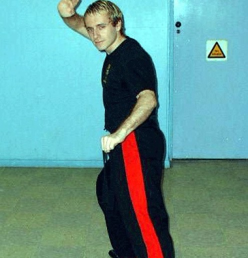Darren Molyneaux Blackbelt 1st Degree Kickboxing