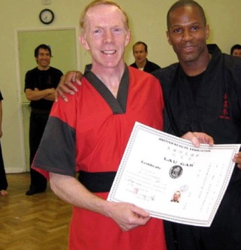 Gwynn Mitchell Blacksash 2nd Degree