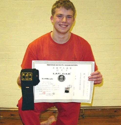 Mathew Evans Blacksash 1st Degree