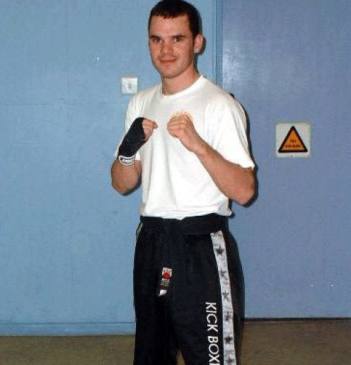 Richard Steen Blackbelt 1st Degree Kickboxing