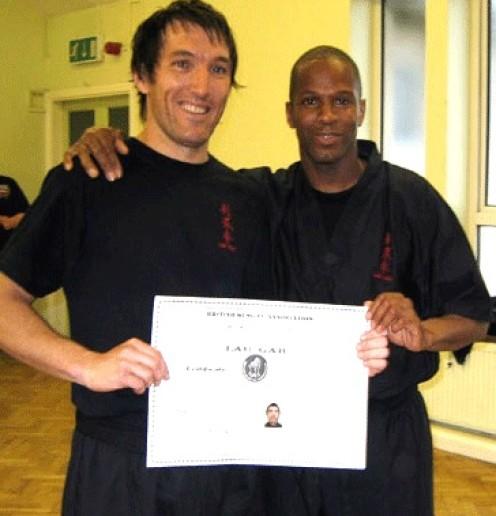 Steve Williams Blacksash 1st Degree
