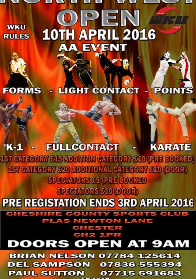 North West Open April 2016