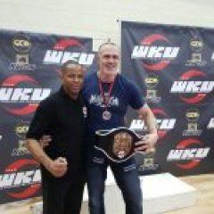 Darren Ledsham WKU Champion