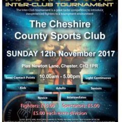 Open Martial Arts Inter-Club Tournament