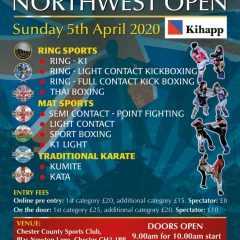 AFSO Northwest Open - Sunday 5th April 2020